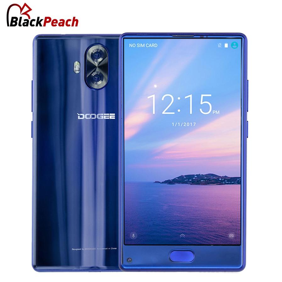 DOOGEE Mix lite MTK6737 Quad Core Andorid 7.0 5.2 Bezel-less Mobile Phone 2GB+16GB 13MP Dual Camera Fingerprint 4G Smartphone