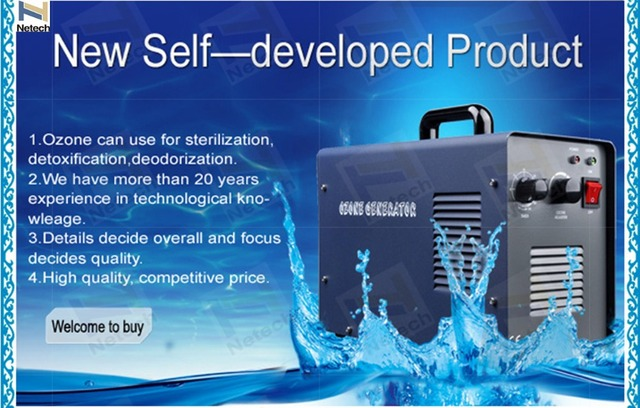 6G Commercial Portable Ozone Generator for Air And Water Purification
