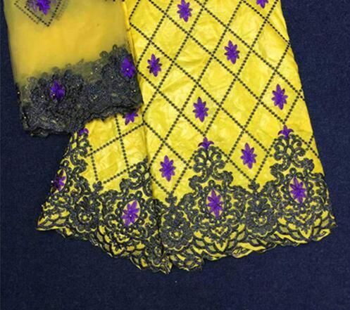 Yellow bazin riche fabric bazin riche getzner 2018 cotton fabric nigerian jacquard brocade fabric with beads for women LY-72Yellow bazin riche fabric bazin riche getzner 2018 cotton fabric nigerian jacquard brocade fabric with beads for women LY-72