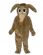 Long Nose Brown Aardvark with Attitude Aardvark Anteaters Mascot Costume Fancy Dress Cartoon Character Mascotte Mascota SW1168(China)