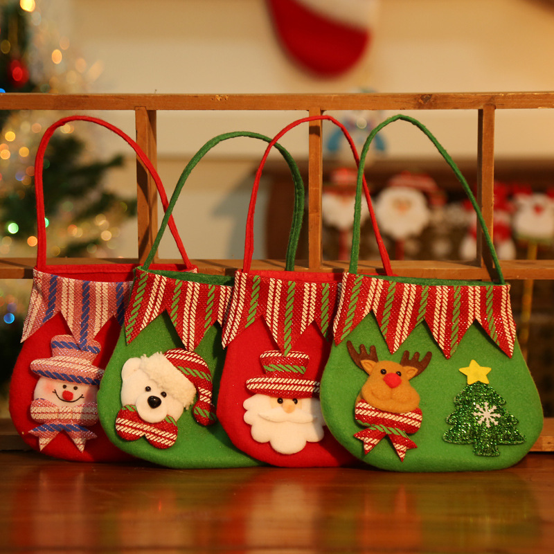 Christmas Giveaways For Kids.Baby Kids Christmas Bag Children Giveaways Bags Cute