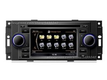 For JEEP Commander 2006~2007 – Car GPS Navigation System + Radio TV DVD iPod BT 3G WIFI HD Screen Multimedia System