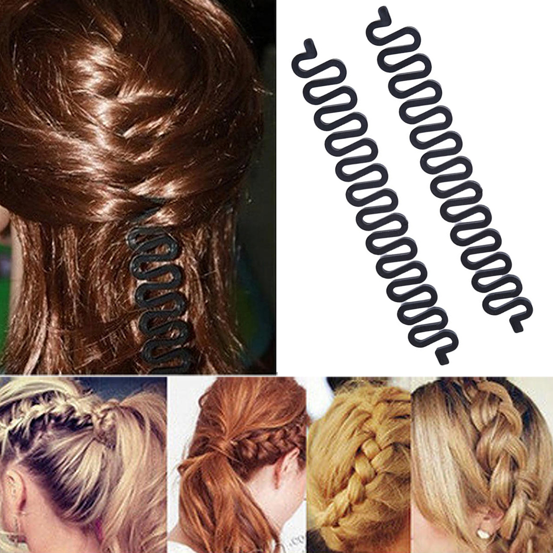 Disk Device Tress Barber Accessories Braided Artifact Lazy Hair Tools Hairpin Accessories Salon Accessories