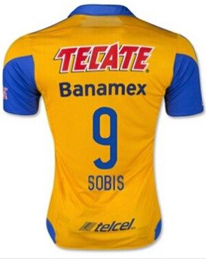ef7e63e0a 2016 Tigers Sccoer Jerseys Futbol Jersey Mexico Club Team Tiger Copa  Libertadores Shirt GUERRON SOBIS GIGNAC GUERROM Home Yellow-in Soccer  Jerseys from ...