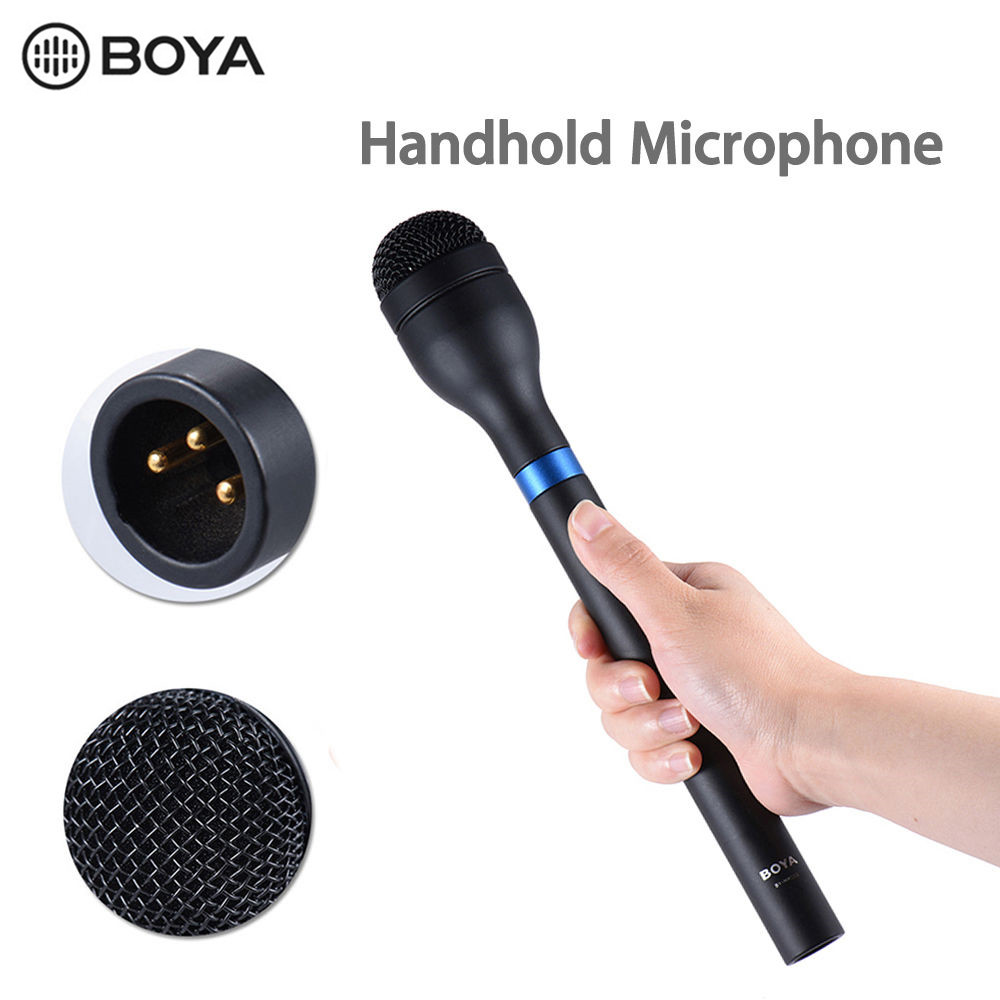 BOYA BY-HM100 Dynamic Handheld Microphone 5