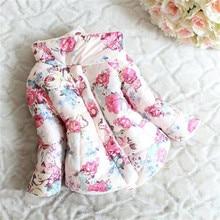 Toddler Baby Girls Down Parka Outwear Clothes Winter Warm Coat Jacket Snowsuit Kids Girls Winter Cost