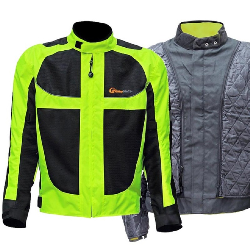 Winter Men Motorcycle Jacket Motorcycle Pants Set Windproof Motorcycle Racing Suit Protective Gear Moto Clothing Jacket
