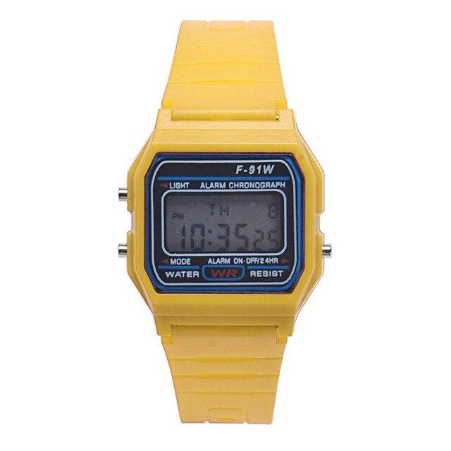 HONHX New Fashion Men's Digital Watches LED Digital Round Rubber Quartz Sport Waterproof Wristwatches relogio masculino 40 3