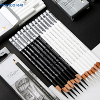 Marco White Charcoal Highlighter White Sketch Pencil Student Beginner Special Soft Hard Adult Hand painted Tools Art Supplies|Sketch Charcoal Pencils|   -
