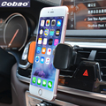 Cobao coche universal car air vent mount holder giratoria 360 teléfono móvil holder soporte para iphone 5 5s 6 6 s 7 plus galaxy xiaomi