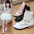 Детская Обувь Детей Сандалии Для Девочек Летней Принцессы Сапоги Обувь Кружева Мода Дышащая Открытым Носком Обуви