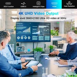 Image 5 - OneAudio 7/11 w 1 USB HUB C HUB na Multi USB 2.0 3.0 4K HDMI Adapter Dock dla MacBook Pro akcesoria USB C typ C Splitter