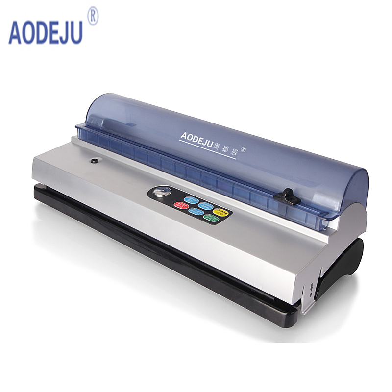 aodeju small commercial vacuum food sealer vacuum packaging machine family expenses vacuum machine