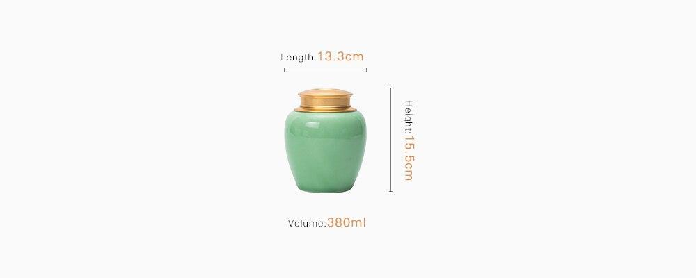 longquan plum green tea tin 3
