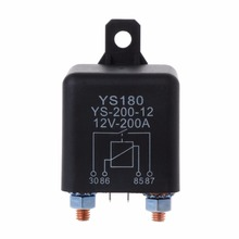 24V 200Amp Start Relay 5Pin Heavy Duty ON/OFF Switch Split Charge For Car