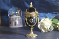 Đen Wine Cup Hộp Âm Nhạc Mở Cửa Công Chúa hộp Đồ Trang Sức Với Kim Cương Musical hộp Valentine Ngày Giáng Sinh Quà Tặng