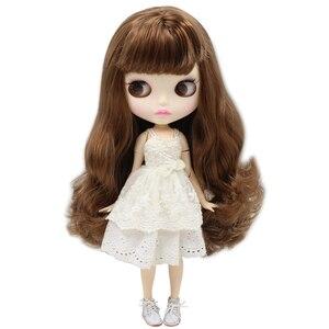 Image 5 - Buzlu blythe fabrika bebek için uygun elbise kendiniz DIY değişim 1/6 BJD oyuncak özel fiyat OB24b küresel mafsal
