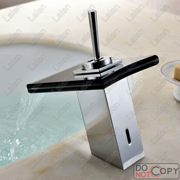 ФОТО Superfaucet Bathroom Faucet,Water Tap Bathroom,Waterfall Faucet,Faucet Handles,Bathroom Sink HG-1207DC