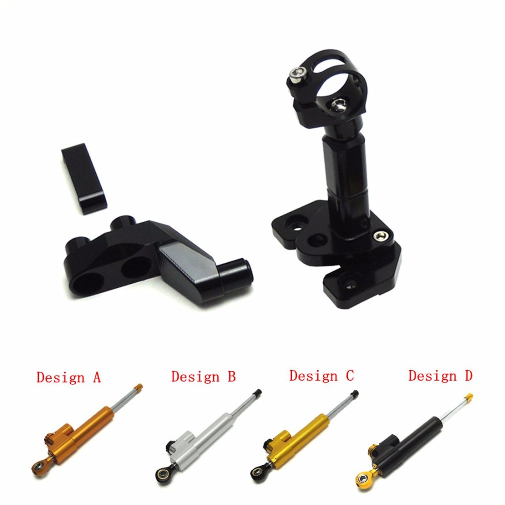 For yamaha yzf-r25 r3  Steering Stabilizer Damper with Mounting Bracket 2014-2016 for YAMAHA YZF R25 R3 brand new