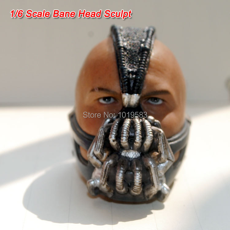 Free Shipping Brand New 1/6 Scale Action Figure Accessories Batman: Bane Head Sculpt For 12'' Action Figure Model Toy brand new 1 6 scale mad max 4 imperator furiosa charlize theron head sculpt for 12 action figure model toy accessories