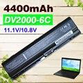 4400 mah batería del ordenador portátil para hp pavilion dv2000 series 417066-001 ev088aa ev089aa ex940aa ex941aa hstnn-db32 hstnn-lb31 hstnn-ob42