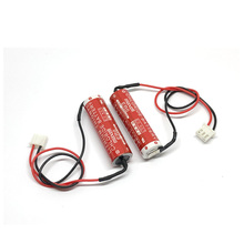 8pcs/lot New Original Maxell ER6 3.6V 2000mah Lithium Battery PLC Batteries with White Plug Made in Japan стоимость