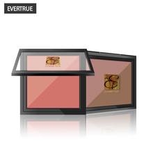 MK 2 Color/box Make Up Blusher Pressed Powder Rouge Bronzer Palette Blush Professional Makeup Cosmetic For Face Easy to Wear