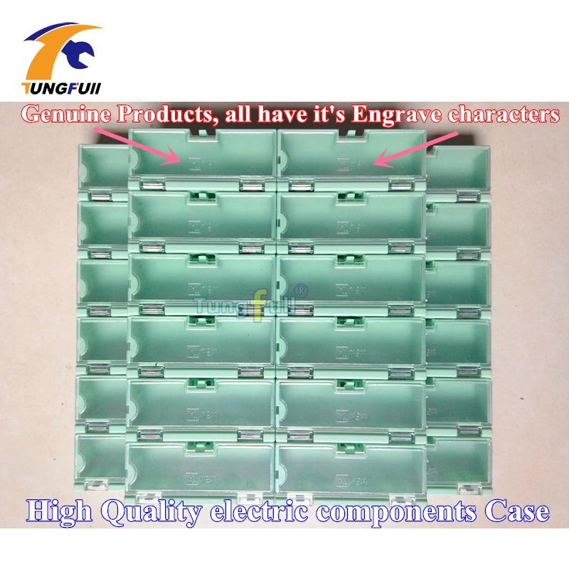 30 шт. электронный дело комплект компоненты хранения коробки контейнеры зеленые и больше ювелирные изделия storeages случае