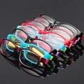 Crianças Óculos Ópticos Tamanho 45mm Nenhum Parafuso Flexível, crianças Óculos de Armação, adolescentes Óculos, Quadro TR90 & Silicone Seguro E Flexível