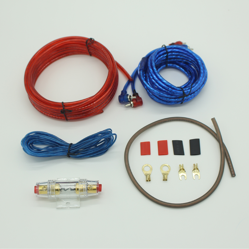 2017 New Car Audio Speakers Wiring kits Cable Amplifier Subwoofer ...