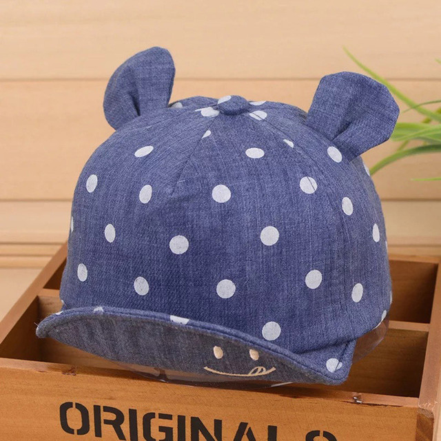 Summer Dot Patterned Baby's Hats