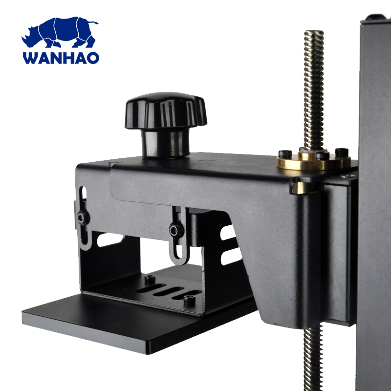 DLP 3D printer 2017 Wanhao Duplicator 7 light machine with easy operation higher cost performance metal