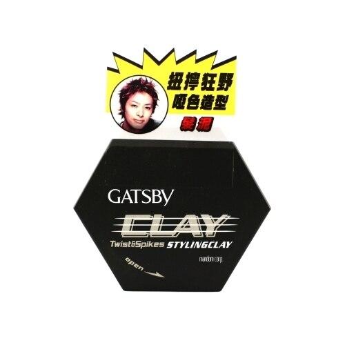 Япония Гэтсби Твист & Шипы Стайлинг Глина 50 г Парикмахерские Волосы Глины
