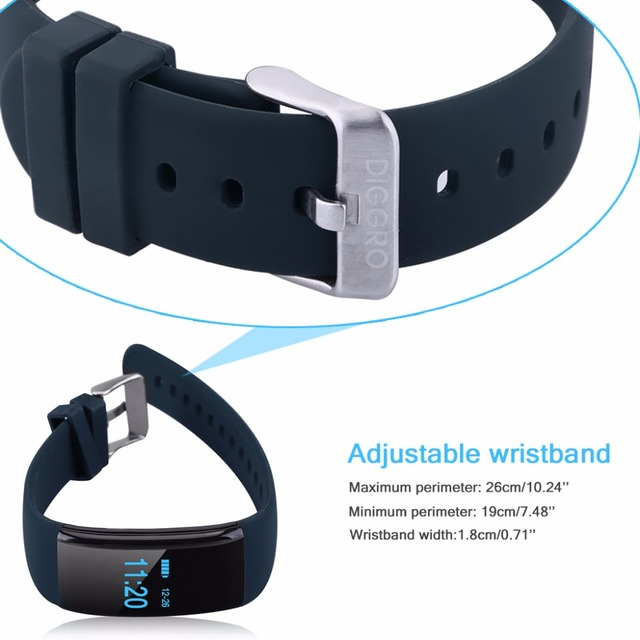 Wholesale Heart Rate Monitor Smartband Waterproof Swim Smart Band Bracelet Health Fitness Tracker for Android 5pcs