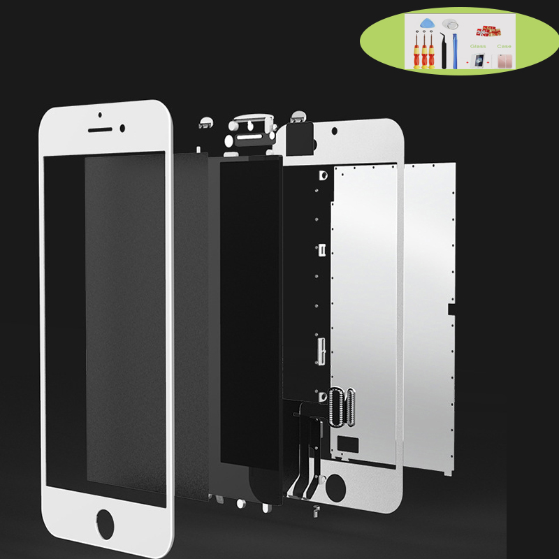 100% OEM AAAA Original LCD Screen For iPhone 4 4S 5 5S SE Screen LCD Display Digitizer Touch Module 4 4S 5 5S SE Replacement image