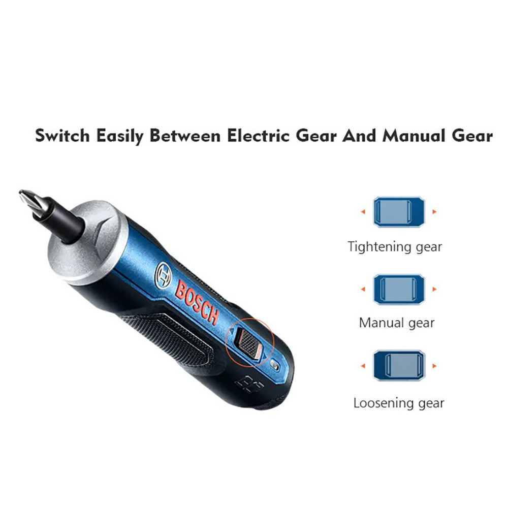 For BOSCH Mini Electrical Screwdriver 3.6V Battery Rechargeable Cordless Power Drill Top Quality Product Tool Accessories 10.24