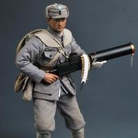 1/6 Anti Japanese War Eight Route Army Machine Gunner SS098 Action Figure Model