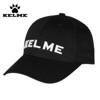 KELME Trendy Design Soccer Sport Cap Peaked Football Baseball Hat Running Beach Caps Sunshade Sunscreen