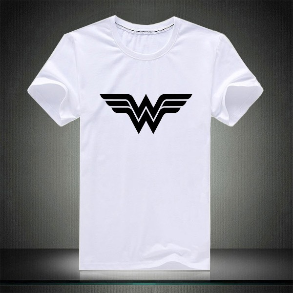 600px New Template for t shirt White wonder woman
