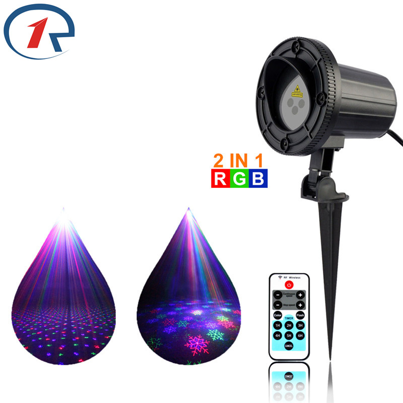 ZjRight laser lights IR Remote Red Green Blue Snowflakes star Waterproof gala party light bar dj disco ktv Projector floor light zjright laser light ir remote red green christmas lights outdoor waterproof garden lamp park party bar dj disco halloween lights