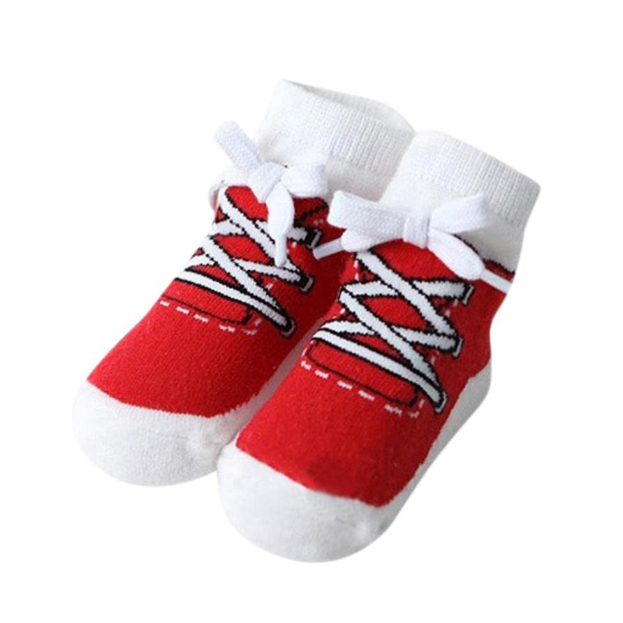 2018 fashion Infant Baby Girls Boys Comfortable Cartoon Fruits Socks Anti-Slip Slipper Socks c511