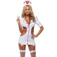 Sexy Nurse Erotic Costumes Sexy Maid Lingerie Set Sexy Role Play Women Erotic Lingerie Sexy Underwear