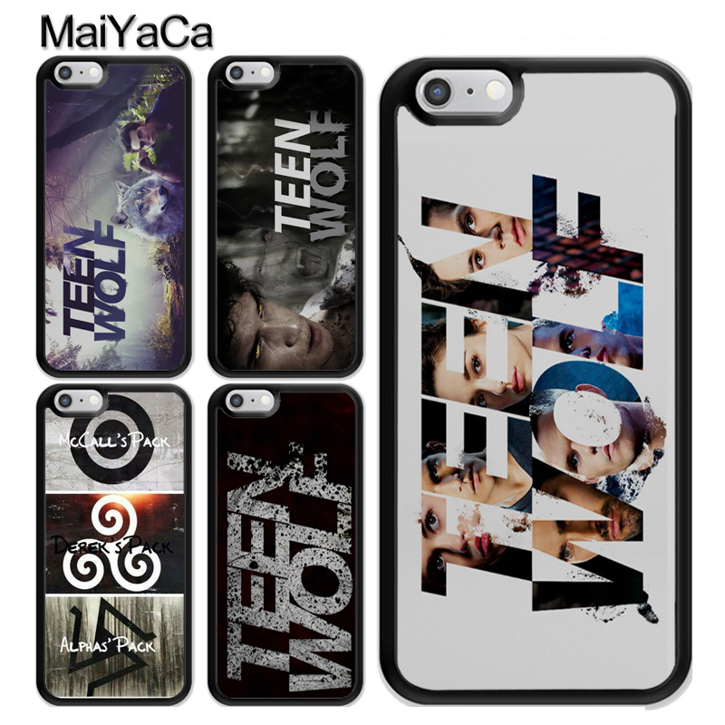 MaiYaCa Teen Wolf Logo Derek Scott Dylan For iPhone X TPU