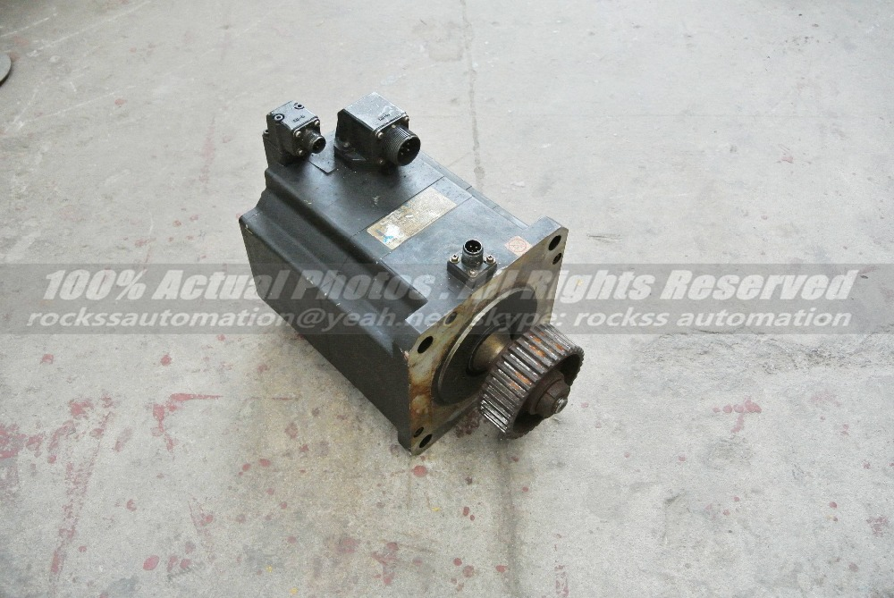 BL-MC100J-20T Used Industrial Servo Motor, Electric Brake Motore Elettrico per Veicoli Elettrici with Encoder ER-JF-7200D riggs r library of souls
