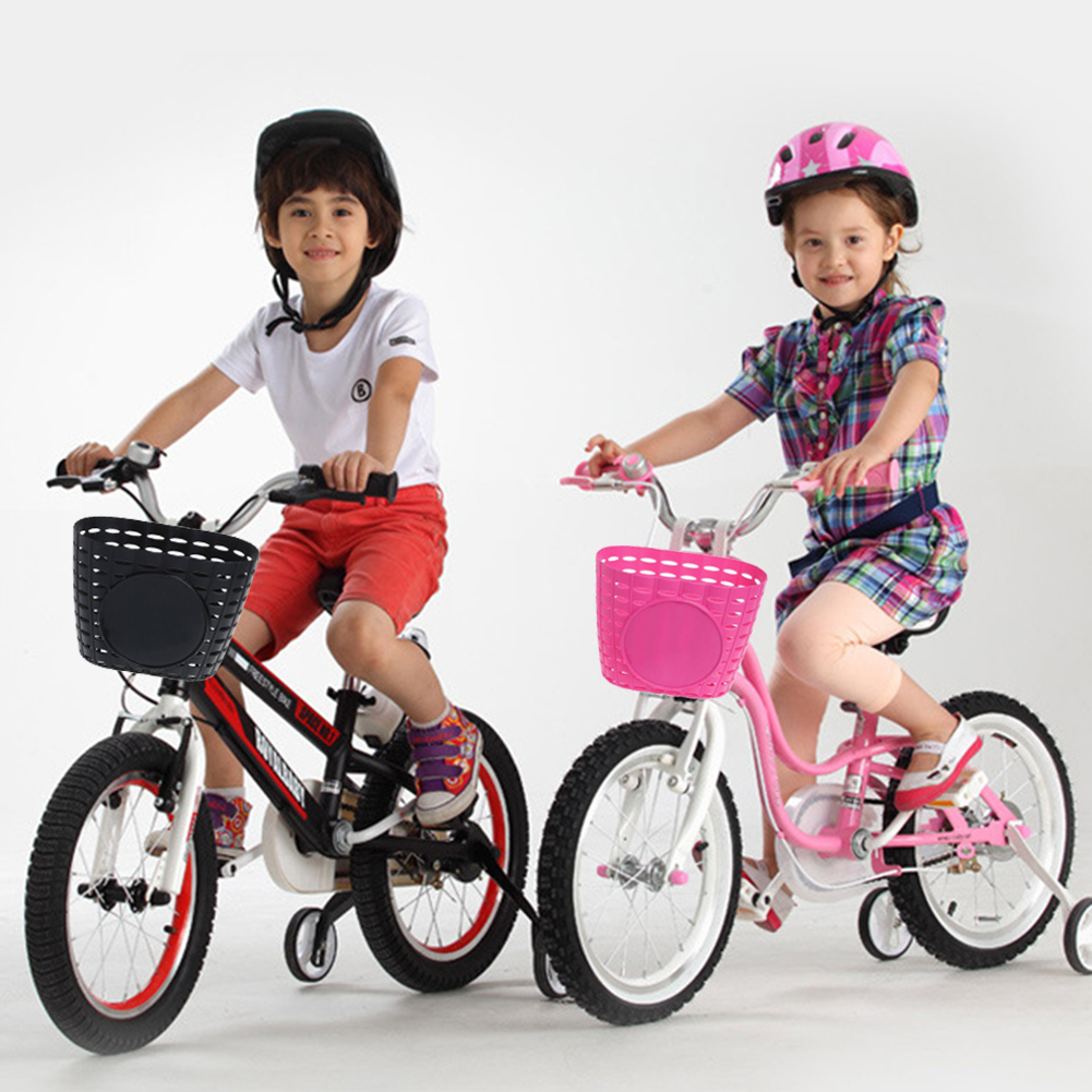 Children Bicycle Basket Outdoor Tricycle Scooter Handlebar Storage Supplies Kids Storage Front Shopping Accessories(China)
