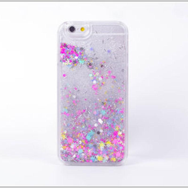 7 Plus Dynamic Liquid Glitter Stars Bling Moving Latest Design Clear ... c35ca971d9ec