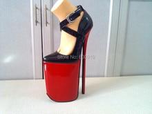 Freies verschiffen, 30 cm Ferse Hohe Sexy Schuhe, High Heel Schuhe, Echte Lederne Schuhe, High Heels, KEINE. y3015