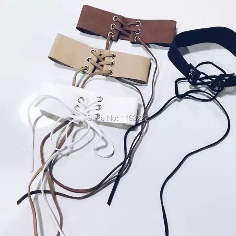 Women Girl Fashion Top Chic 100% Handmade Bondage Choker Criss Cross Ties Cross Lacing Collar Caged Frame Punk Necklace