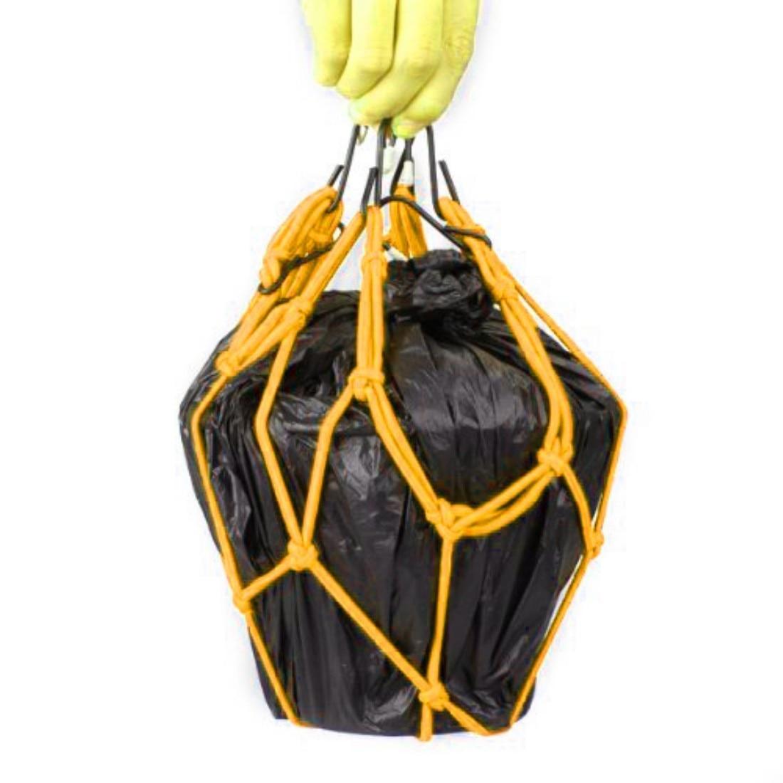 Dewtreetali 2017 Real Sale Cargo Net 6 Hooks Hold Down Cargo Luggage Debris Helmet Net Bag Mesh For Motorcycle Dirt Bike Scooter