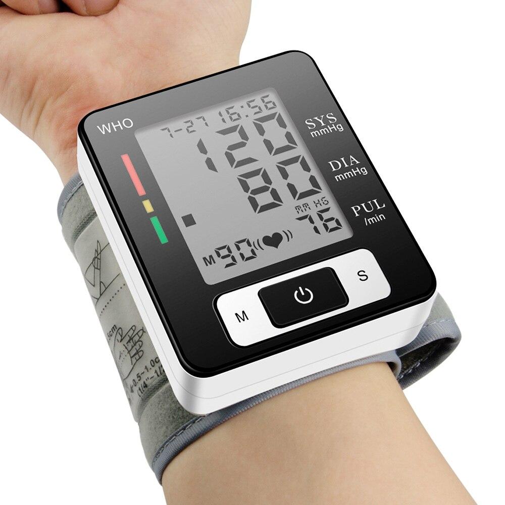 Zoss Home Automatic Wrist Blood Pressure Monitor Blood Pressure Voice Digital Oxygen Blood Glucose Blood Pressure Instrument blood song